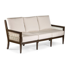 Echo Bay Sofa, Mahogany/Tan, Canvas Natural