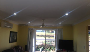 LED down light swap over, energy reduction 200w in room to 35 watts better light