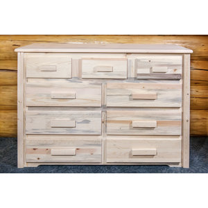 Homestead Collection 9-Drawer Dresser, Ready to Finish