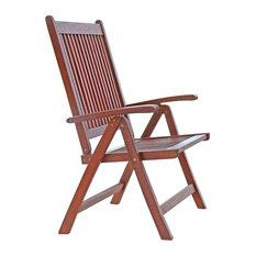 Malibu Outdoor 5-Position Reclining Chair