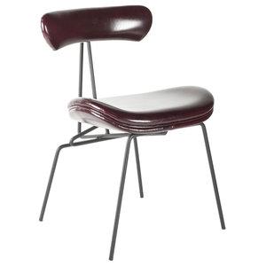 Elle Dining Chair, Vintage Burgundy