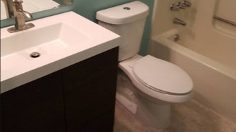 Bathroom Remodel Before/After from Aug. 2
