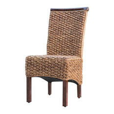 Bay   Laney Wicker Dining Chair   Dining Chairs