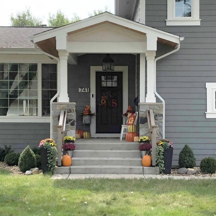 Split-Level Porch & Update