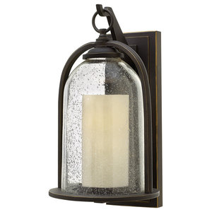 Quincy Traditional Outdoor Wall Light, Large