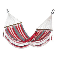 Novica Celebration and Relaxation Handwoven Cotton Hammock, Single