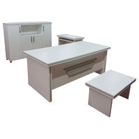 5 Piece Desk Home Office Suite Furniture Set, New Star, 71""