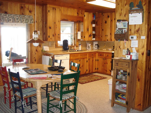 What To Do With Knotty Pine Walls