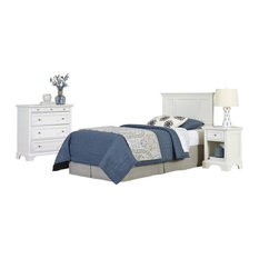 Hawthorne Collections 3-Piece Twin Panel Headboard Bedroom Set