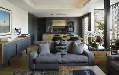 Un piso elegante de espacios abiertos para disfrutar en familia