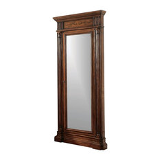 Hooker Furniture Floor Mirror with Jewelry Armoire Storage 50050