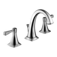Design House   Perth Widespread Bathroom Faucet, Satin Nickel   Bathroom  Sink Faucets
