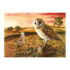 Tuftop Large Textured Worktop Saver, Barny Owl, 50x40 cm