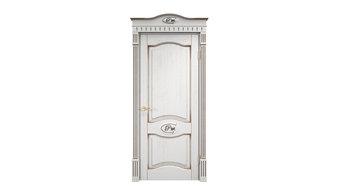 Двери белые из дуба