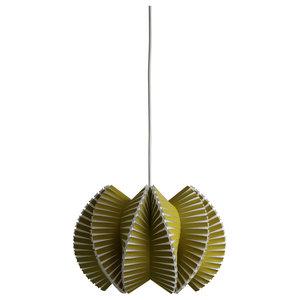 Vault Small Pendant Light, Olive