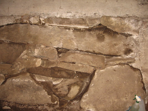 Fieldstone Foundation How To Plug Big, How To Repair A Stone Basement Wall