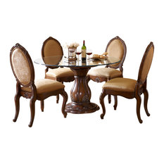 Glass Top Dining Room Sets   Houzz