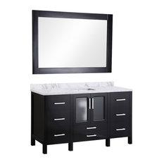 "Stanton 60"" Single Sink Vanity Set, Espresso"