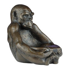 Bowl TRADITIONAL Antique Sitting Monkey