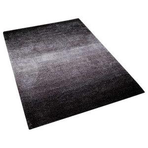 Rio Weavers Charcoal Rectangular Rug, 160x230 cm