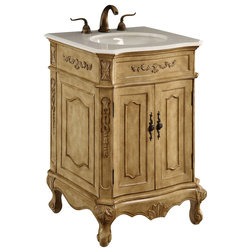 Simple Victorian Bathroom Vanities And Sink Consoles by SohoMod furniture