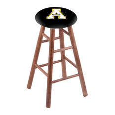 Maple Counter Stool Medium Finish With Appalachian State Seat 24-inch