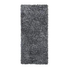 Shimmer Shag 2'x5' Runner, Gray