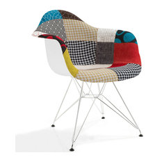 Padget Padded Arm Chair, Patchwork