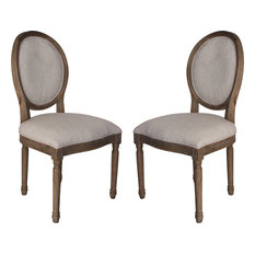 Allcott Side Chairs, Toffee, Set of 2