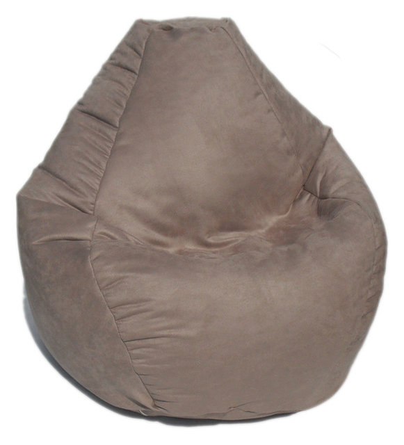 Bean Bag Boys Fabric Bean Bag Chair In Buff
