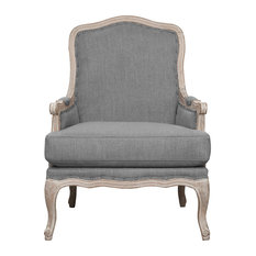 Regal Accent Chair, Slate