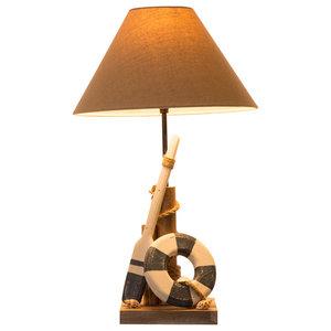 21.65''H Coastal Table Lamp