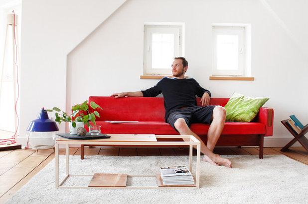 wohnung mit minimalistischem weisem interieur design new york, wie eine abgerockte wohnung zur coolen männerbude wird, Design ideen