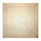 """19.6""""x19.6"""" Styrofoam Glue Up Ceiling Tiles R27, Light Brass"""