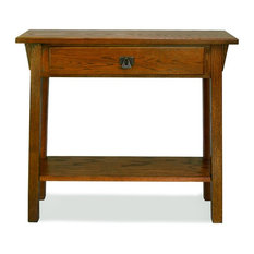 Leick Furniture Favorite Finds Russet Mission Hall Stand