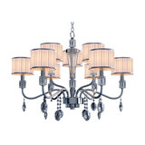 Contemporary Ophelia Chandelier, 9 Lights