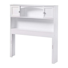 Rosebery Kids Twin Bookcase Headboard In White