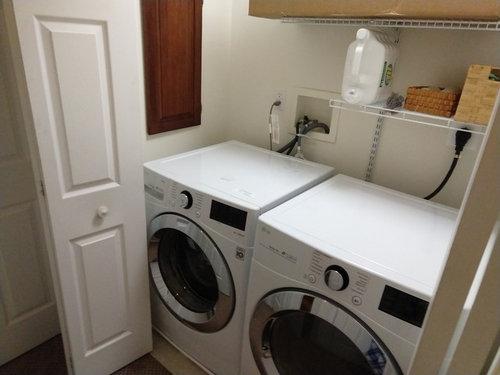 Laundry Closet Door Disaster