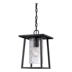 Trendy transitional outdoor hanging lights for 2018 houzz quoizel quoizel lighting ldg1909k lodge outdoor hanging light in mystic black outdoor hanging lights aloadofball Image collections