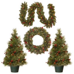 Traditional Christmas Decorations by National Tree Company