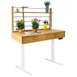 Transitional Potting Benches by Vifah
