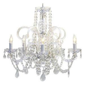 Crystal Chandelier 5-Light