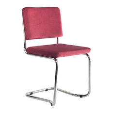 Vicente Donat - Belmond Modern Office Chair, Red - Office Chairs