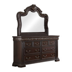 Africa Bedroom Collection Dresser And Mirror