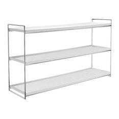 Trays Bookcase by Kartell, White