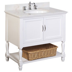 Nice Traditional Bathroom Vanities And Sink Consoles by Kitchen Bath Collection