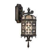 Fine Art Lamps 338581ST Costa del Sol Marbella Iron Outdoor Sconce