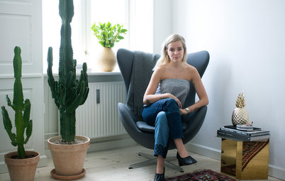Houzz Tour: A Danish Fashion Blogger With a Passion for Antiques