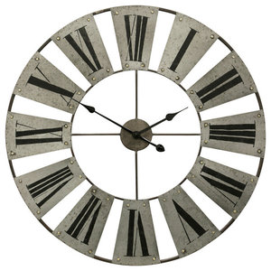 Aspire Home Accents Marcel Windmill Wall Clock