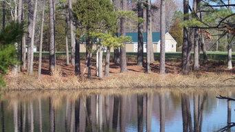 Waterfront Barn/Studio & Main Home site by the Chesapeake Bay